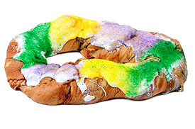 King Cake Clip Art : Mardi Gras on the Net - Kings Cakes