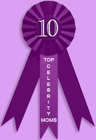 Top 10 celebrity moms