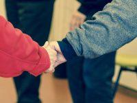 friends hands