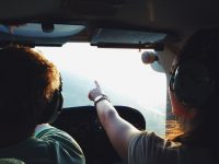 airplane flight