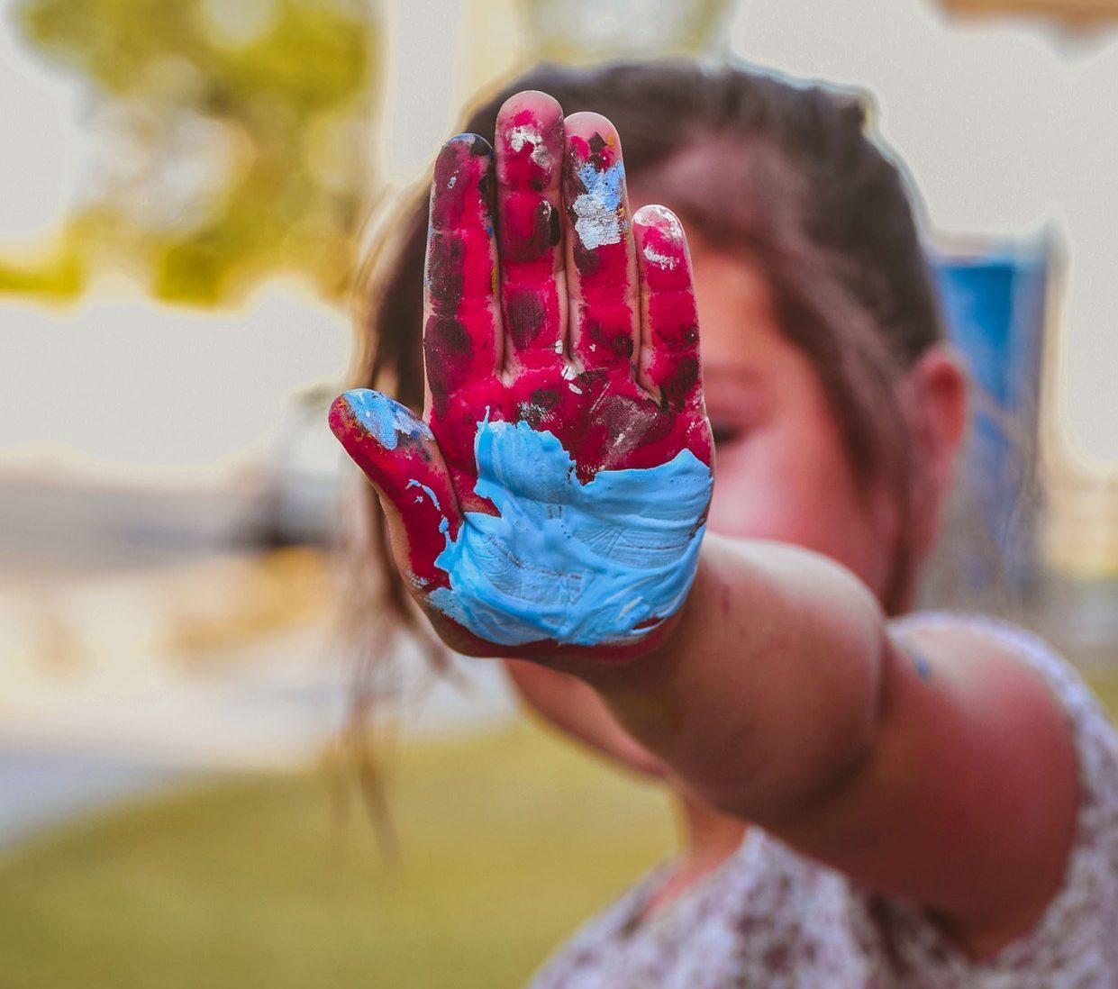child paint